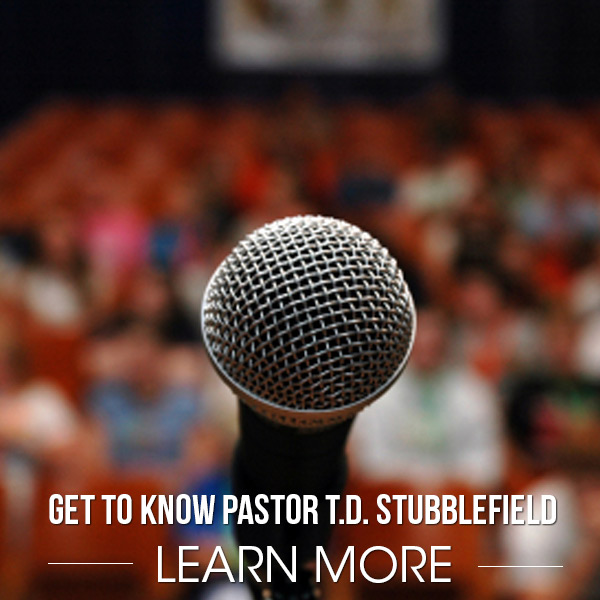 Get to know T.D. Stubblefield